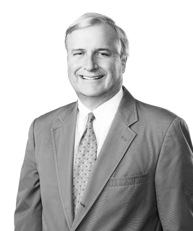 black and white headshot of Curtis R. Hearn