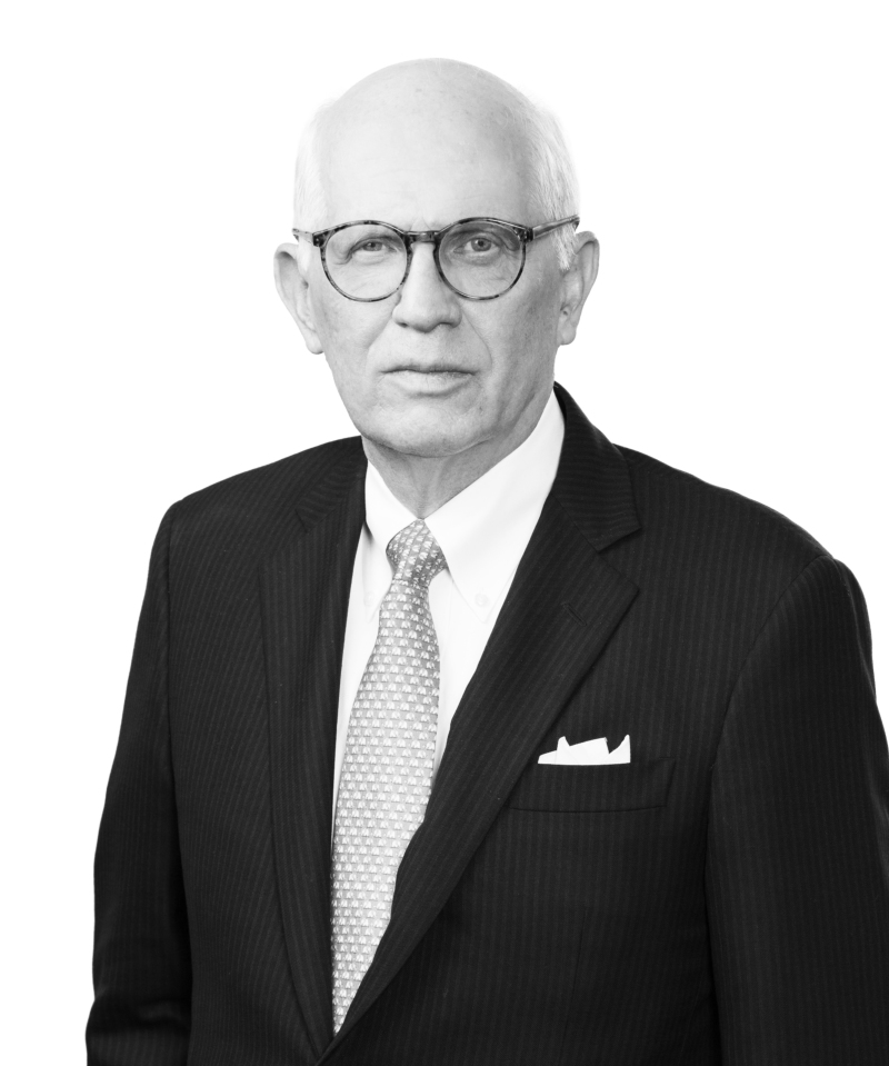 black and white headshot of Ronald A. Snider